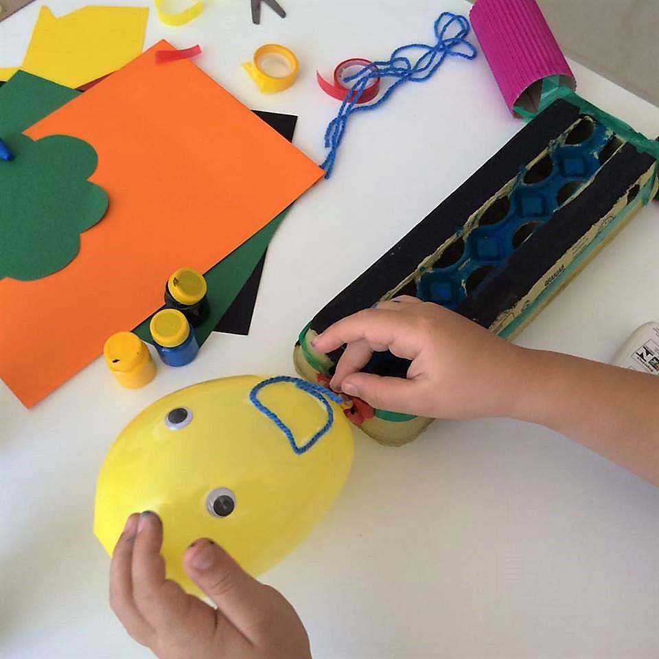 Materiais não estruturados: criar e brincar com IMAGINAÇÃO! 2