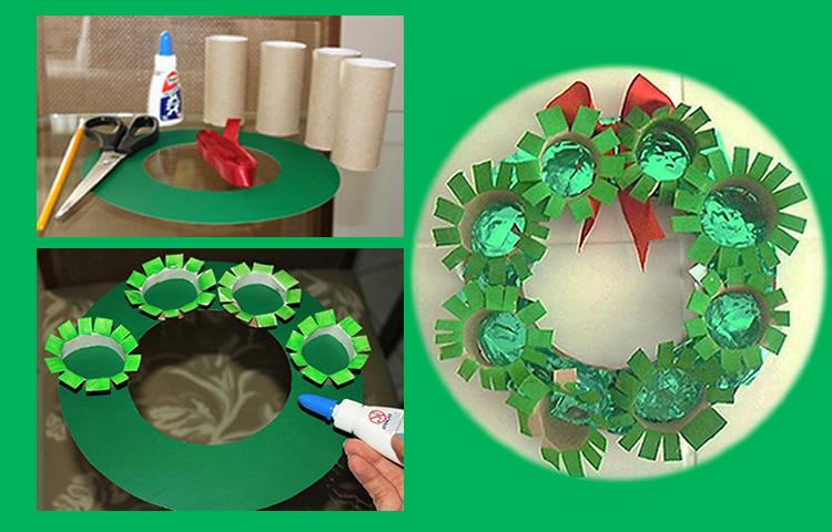 Natal fofo com a Guirlanda de Natal sustentável 3