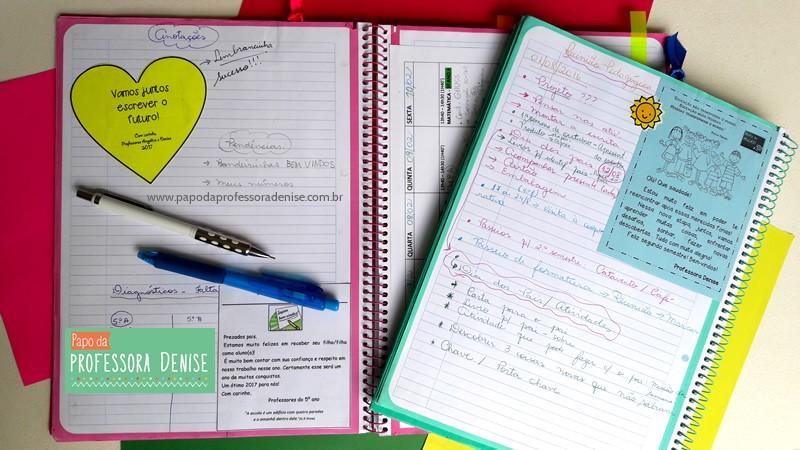 Meus segredos para montar um planner de professora 10
