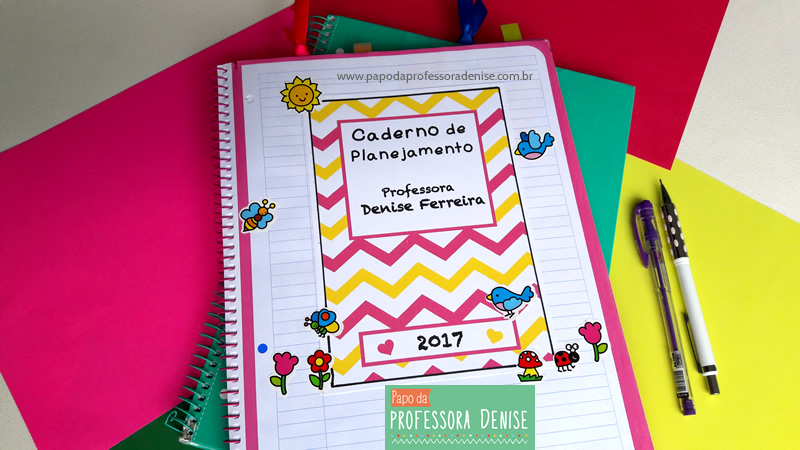 Meus segredos para montar um planner de professora 5