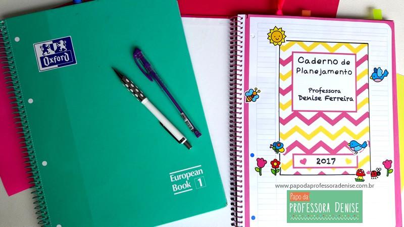 Meus segredos para montar um planner de professora 4