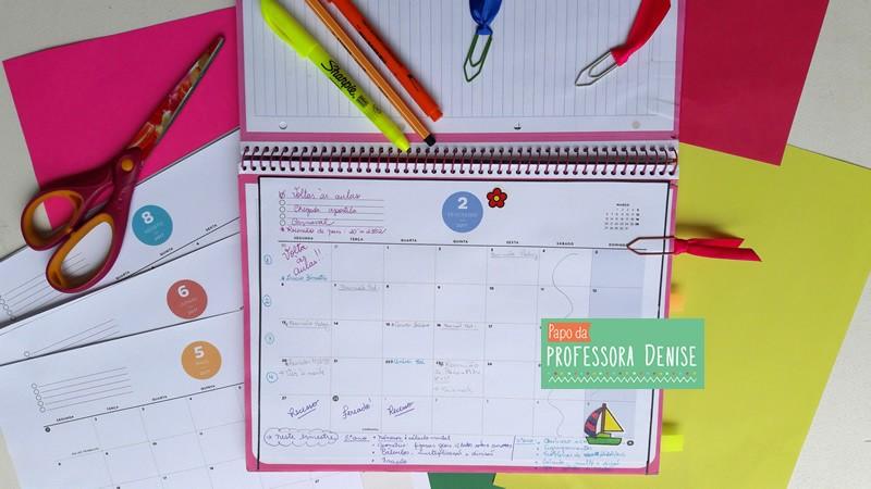 Meus segredos para montar um planner de professora 8