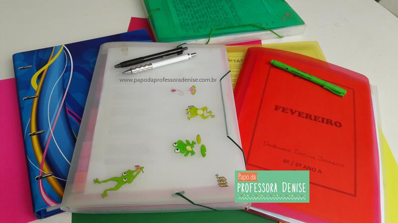 Meus segredos para montar um planner de professora 3