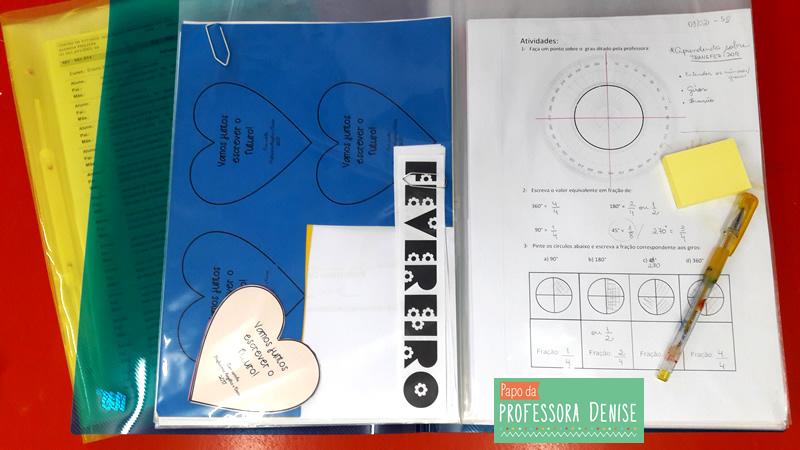 Meus segredos para montar um planner de professora 12