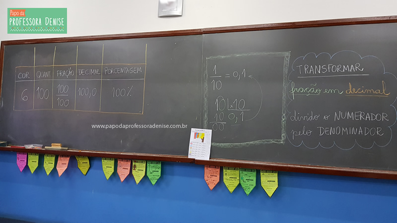 Como calcular PORCENTAGEM com M&M brincando 11