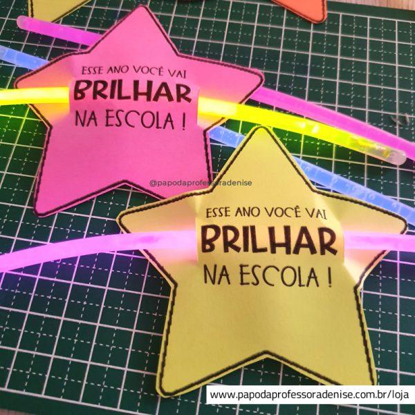 Estrela Pulseira Editável Você vai Brilhar 1
