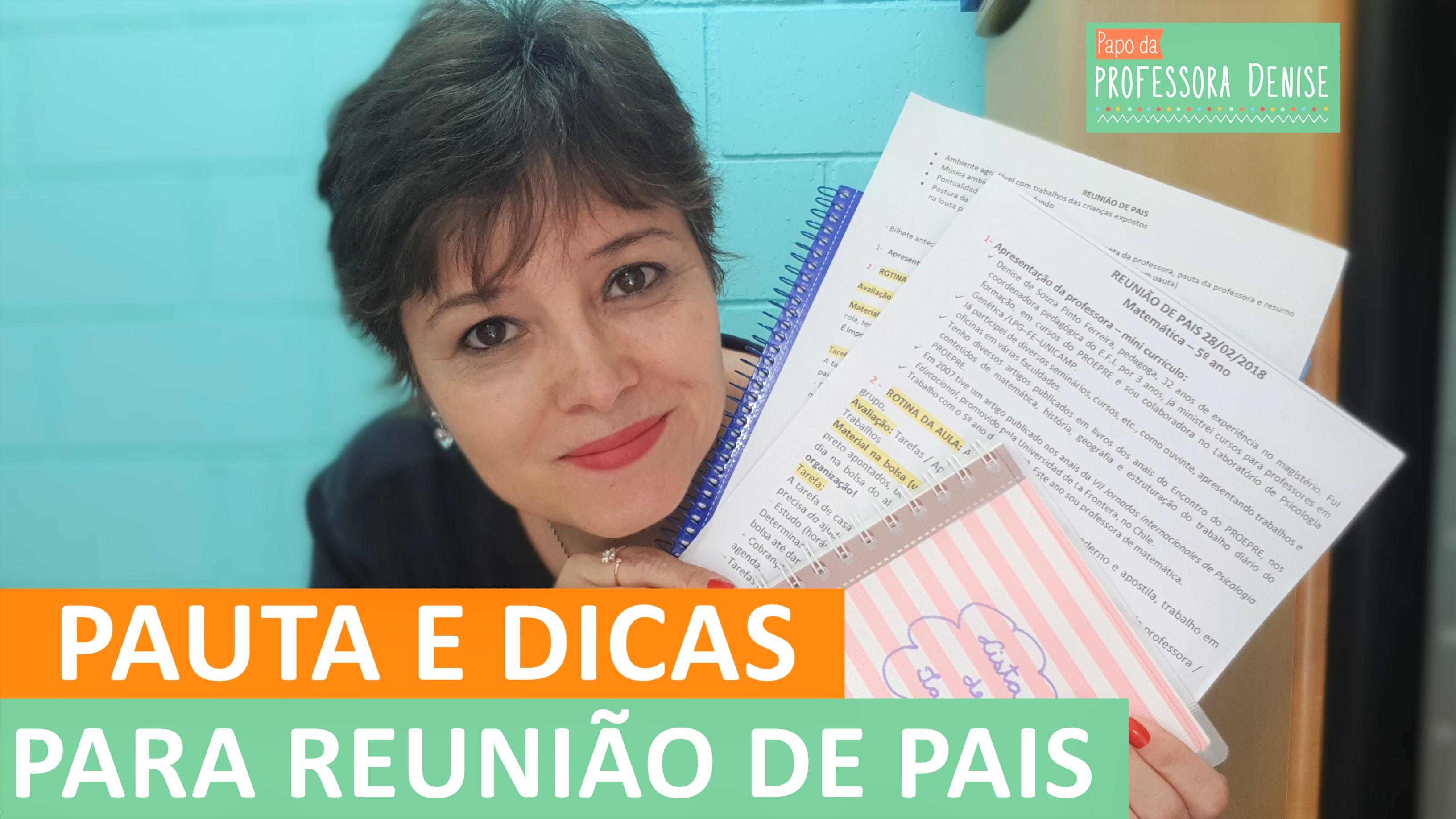 SUPER DICAS PARA ORGANIZAR A REUNIÃO DE PAIS 1