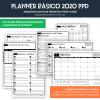 Planner de Professor 2020 - BÁSICO - CADERNO Decorado 2