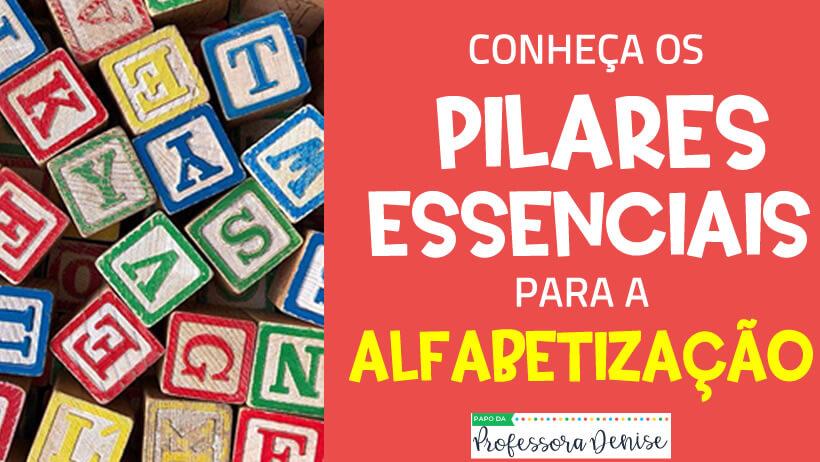 Conheça os pilares essenciais para alfabetização 1