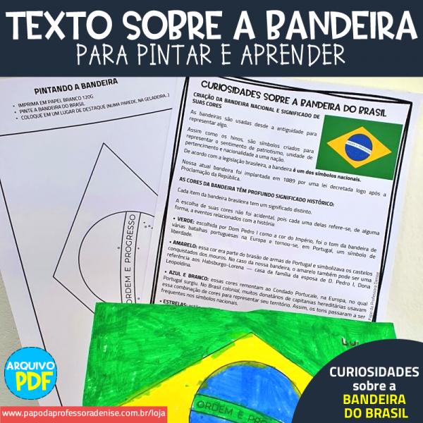 Texto Curiosidades sobre a Bandeira do Brasil 1